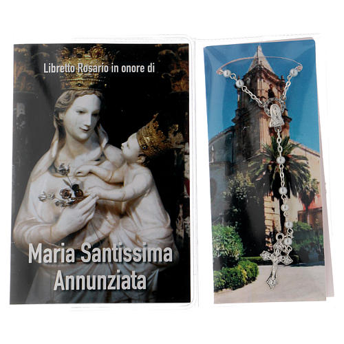 Libretto rosario Maria SS. Annunziata e rosario ITA 2