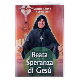 Libretto rosario Beata Speranza di Gesù e rosario ITA s1