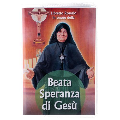 Libretto rosario Beata Speranza di Gesù e rosario ITA 1