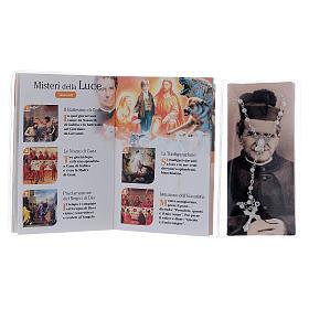Libretto rosario S. Giovanni Bosco con rosario ITA s3