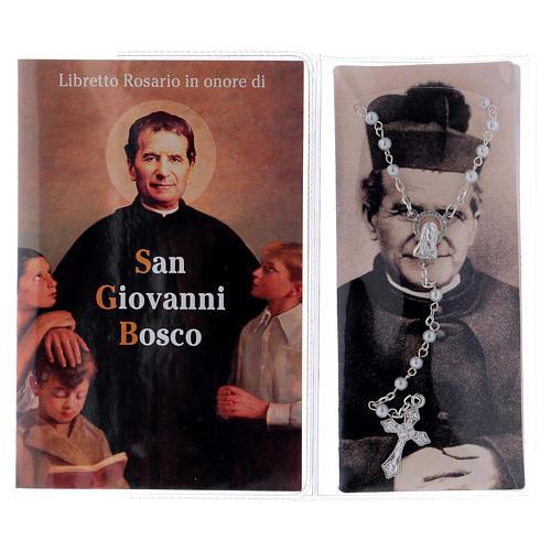 Libretto rosario S. Giovanni Bosco con rosario ITA 2