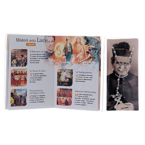 Libretto rosario S. Giovanni Bosco con rosario ITA 3
