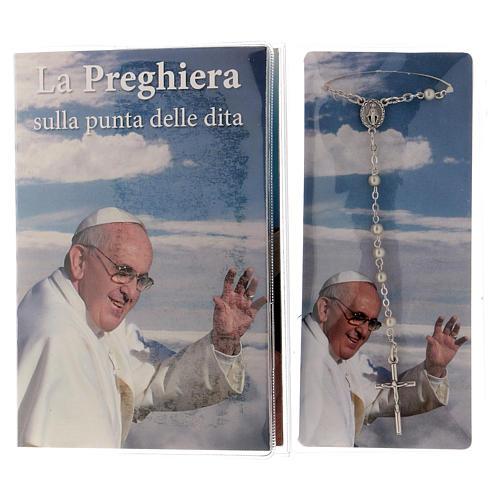 Libretto rosario con preghiere delle 5 dita e rosario ITA 2