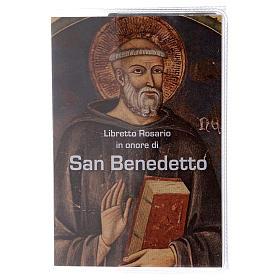 Calendari e altri libri religiosi: Libretto rosario S. Benedetto e rosario ITA