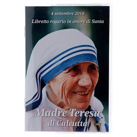 Libretto rosario Madre Teresa di Calcutta e rosario ITA s1