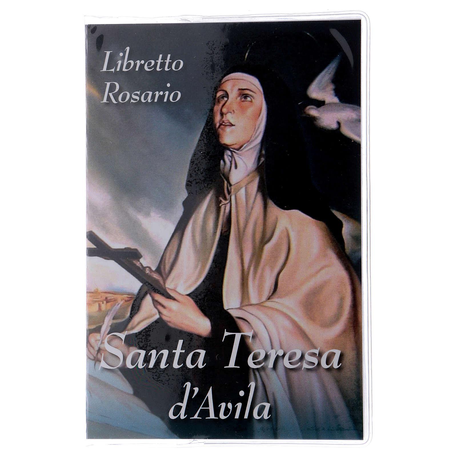 Libretto rosario Santa Teresa d'Avila e rosario ITA 4