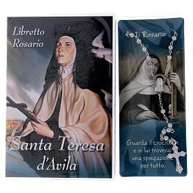 Libretto rosario Santa Teresa d'Avila e rosario ITA s2