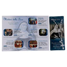 Libretto rosario Santa Teresa d'Avila e rosario ITA s3