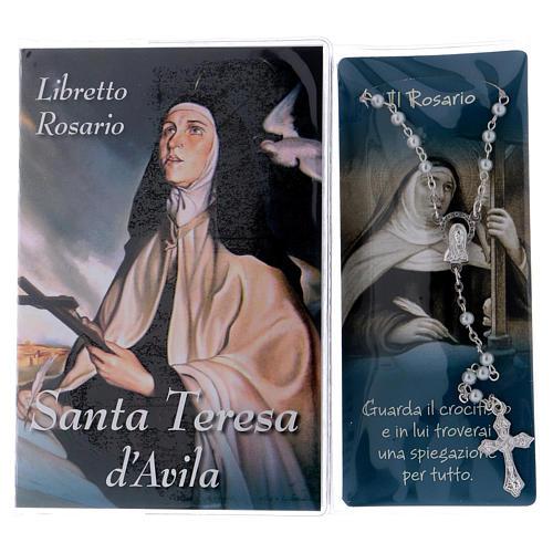 Libretto rosario Santa Teresa d'Avila e rosario ITA 2