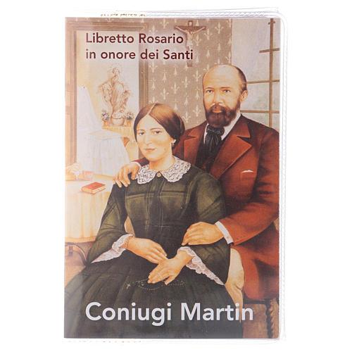 Libretto rosario coniugi Martin e rosario ITA 1