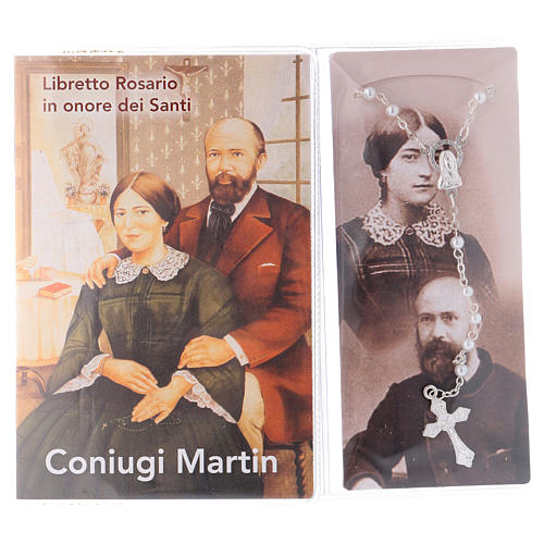 Libretto rosario coniugi Martin e rosario ITA 2