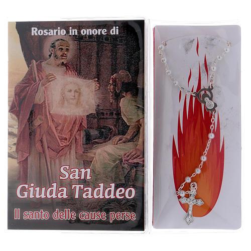Libretto rosario San Giuda Taddeo e rosario ITA 2