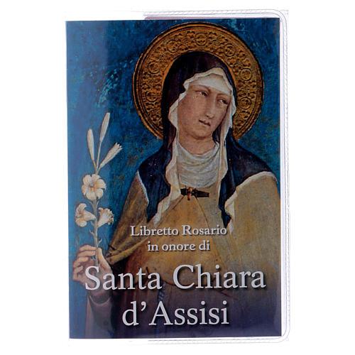 Libretto rosario Santa Chiara d'Assisi e rosario ITA 1