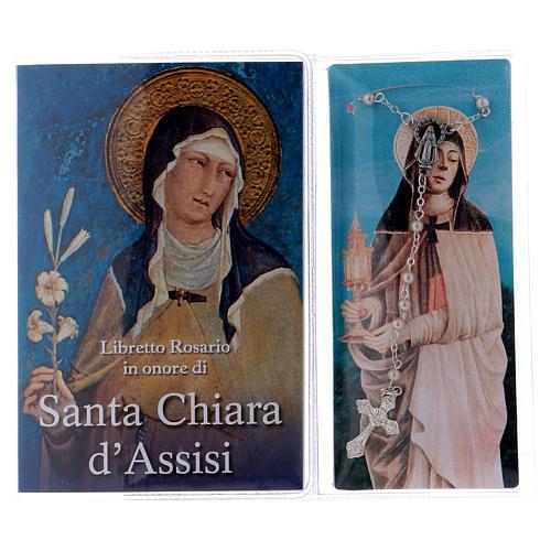 Libretto rosario Santa Chiara d'Assisi e rosario ITA 2