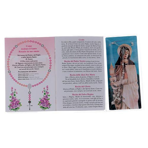 Libretto rosario Santa Chiara d'Assisi e rosario ITA 3