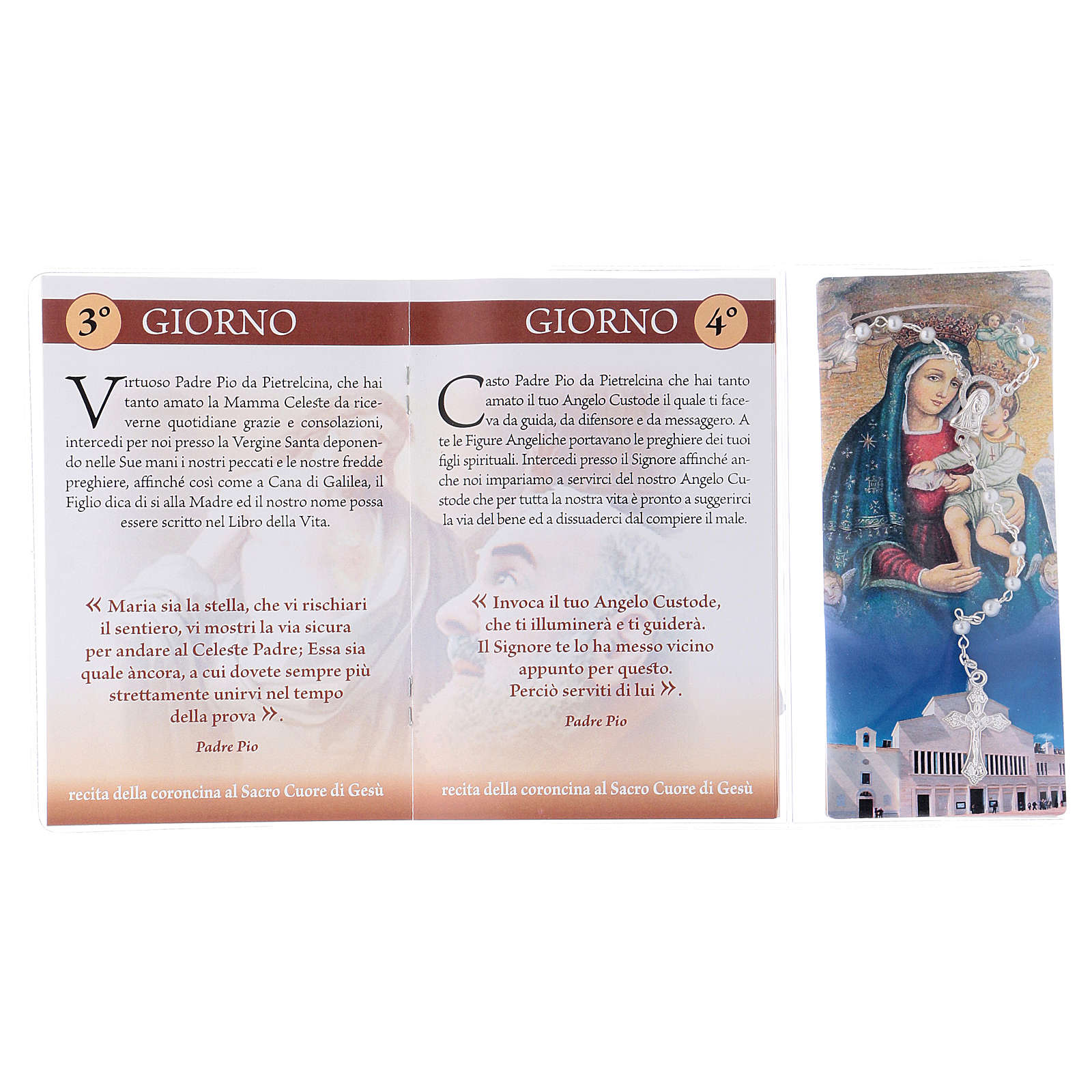 Libretto rosario San Pio da Pietrelcina e rosario ITA 4