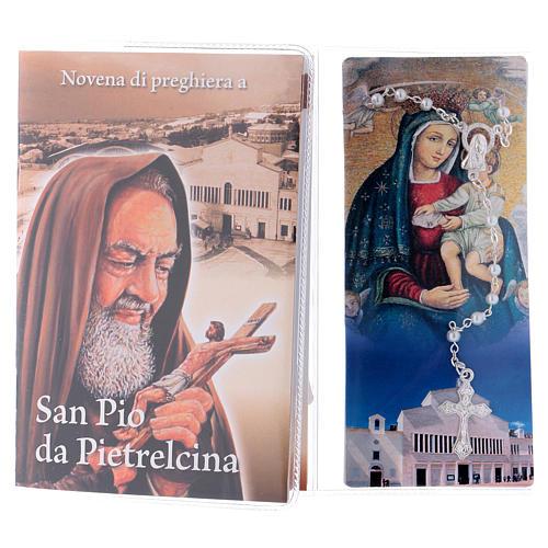 Libretto rosario San Pio da Pietrelcina e rosario ITA 2