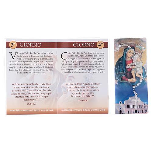 Libretto rosario San Pio da Pietrelcina e rosario ITA 3
