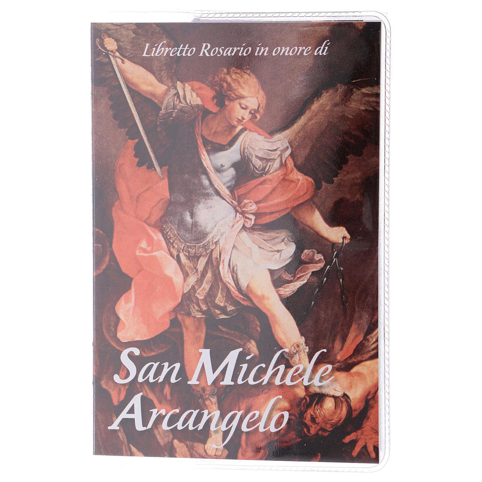 Libretto rosario S. Michele Arcangelo e rosario ITA 4