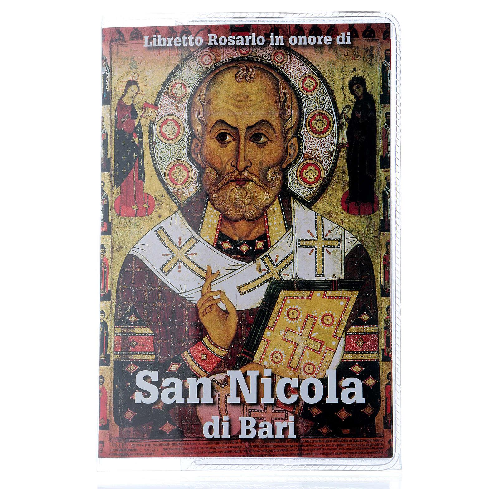 Libretto rosario San Nicola di Bari e rosario ITA 4