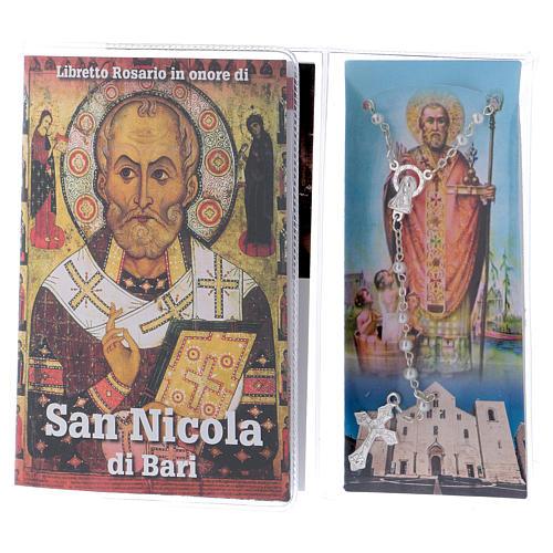 Libretto rosario San Nicola di Bari e rosario ITA 2