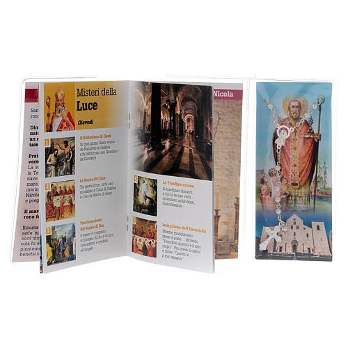 Libretto rosario San Nicola di Bari e rosario ITA 3