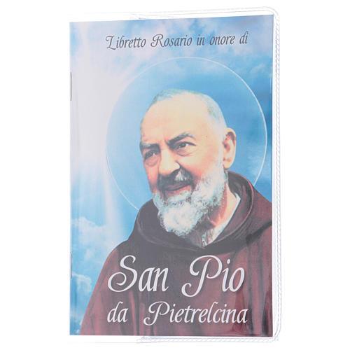 Libretto rosario San Pio e rosario ITA 1