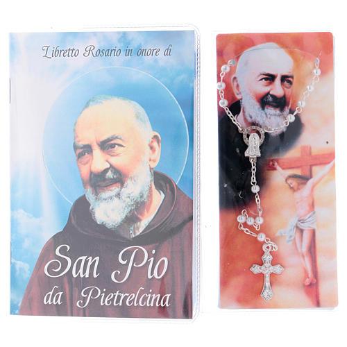 Libretto rosario San Pio e rosario ITA 2