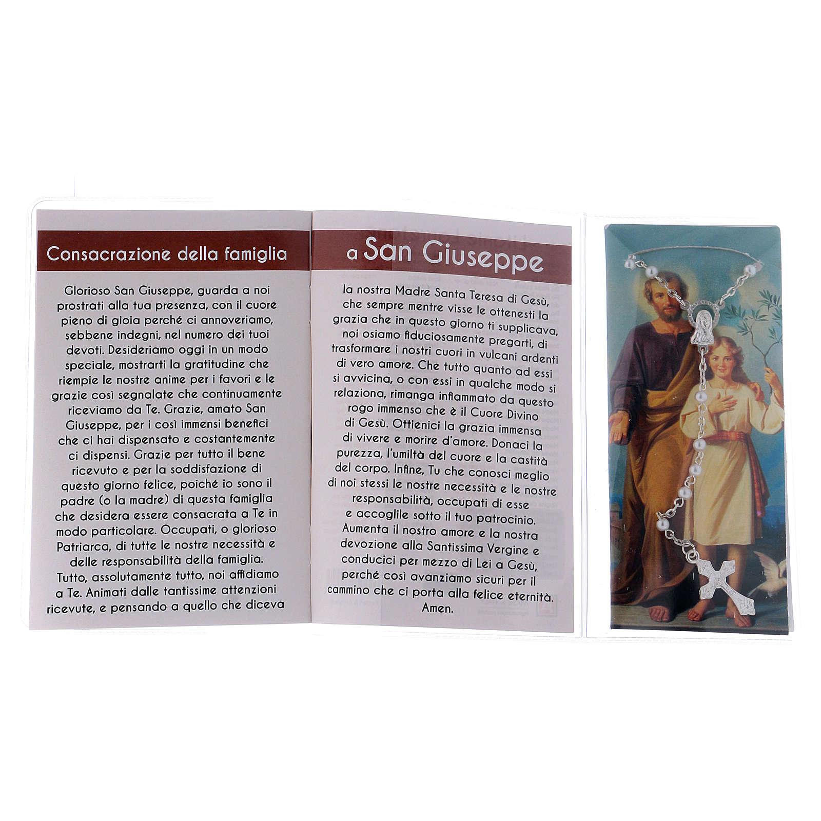 Libretto rosario San Giuseppe e rosario ITA 4