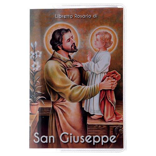 Libretto rosario San Giuseppe e rosario ITA 1