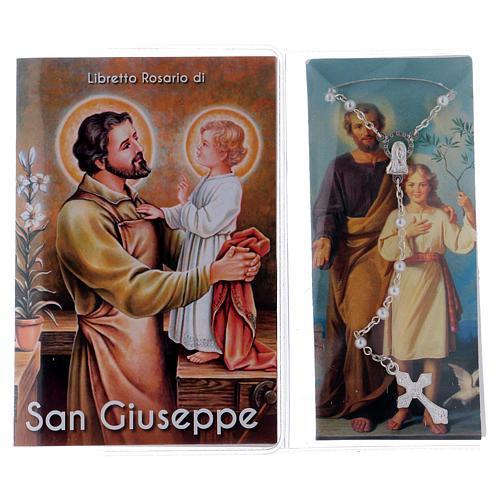 Libretto rosario San Giuseppe e rosario ITA 2