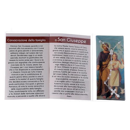 Libretto rosario San Giuseppe e rosario ITA 3