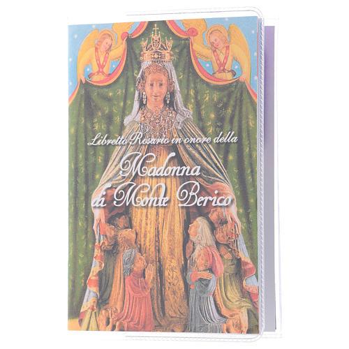 Libretto rosario Madonna di Monte Berico e rosario ITA 1