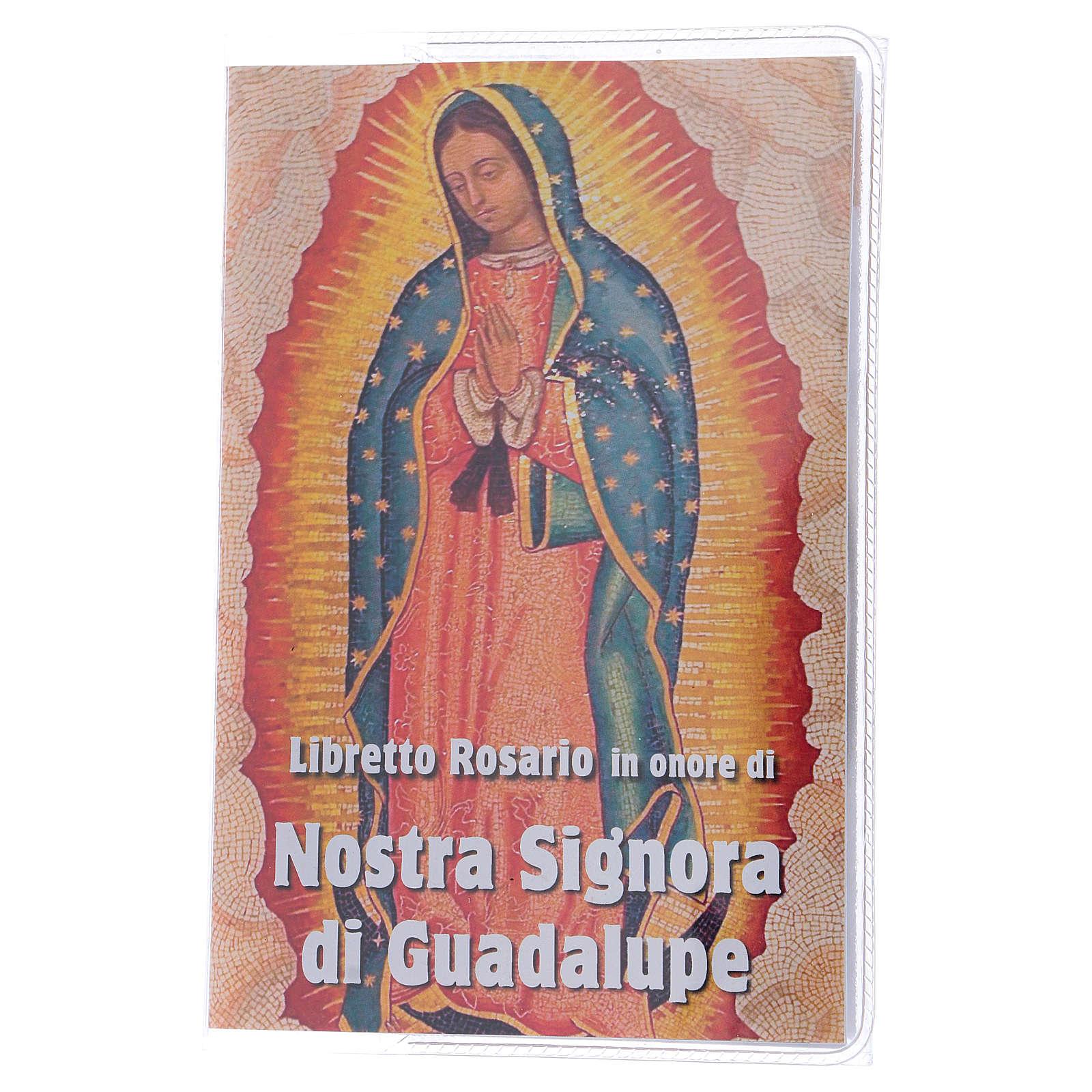 Libretto rosario Madonna di Guadalupe e rosario ITA 4
