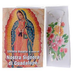 Libretto rosario Madonna di Guadalupe e rosario ITA