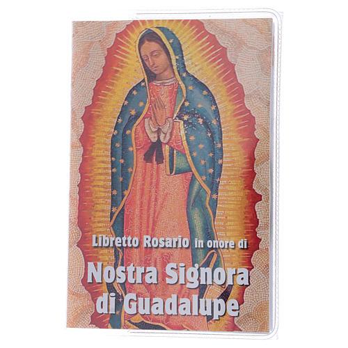 Libretto rosario Madonna di Guadalupe e rosario ITA 1