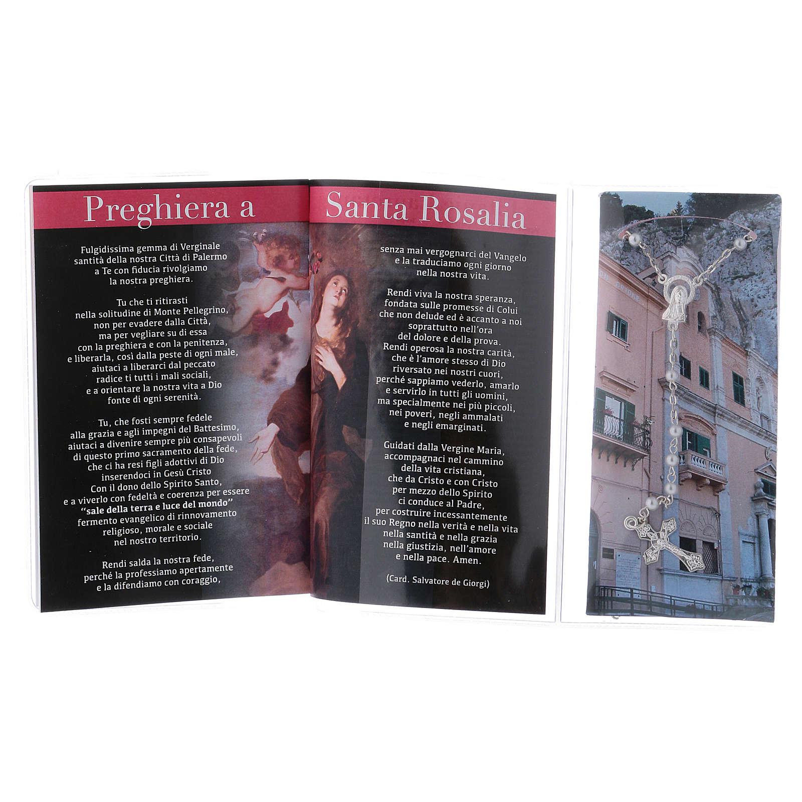 Libretto rosario Santa Rosalia e rosario ITA 4