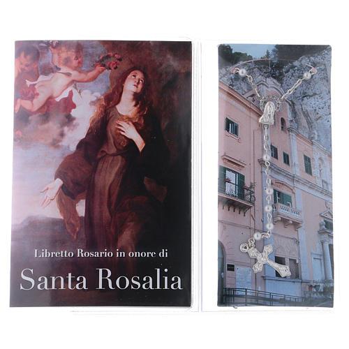Libretto rosario Santa Rosalia e rosario ITA 2