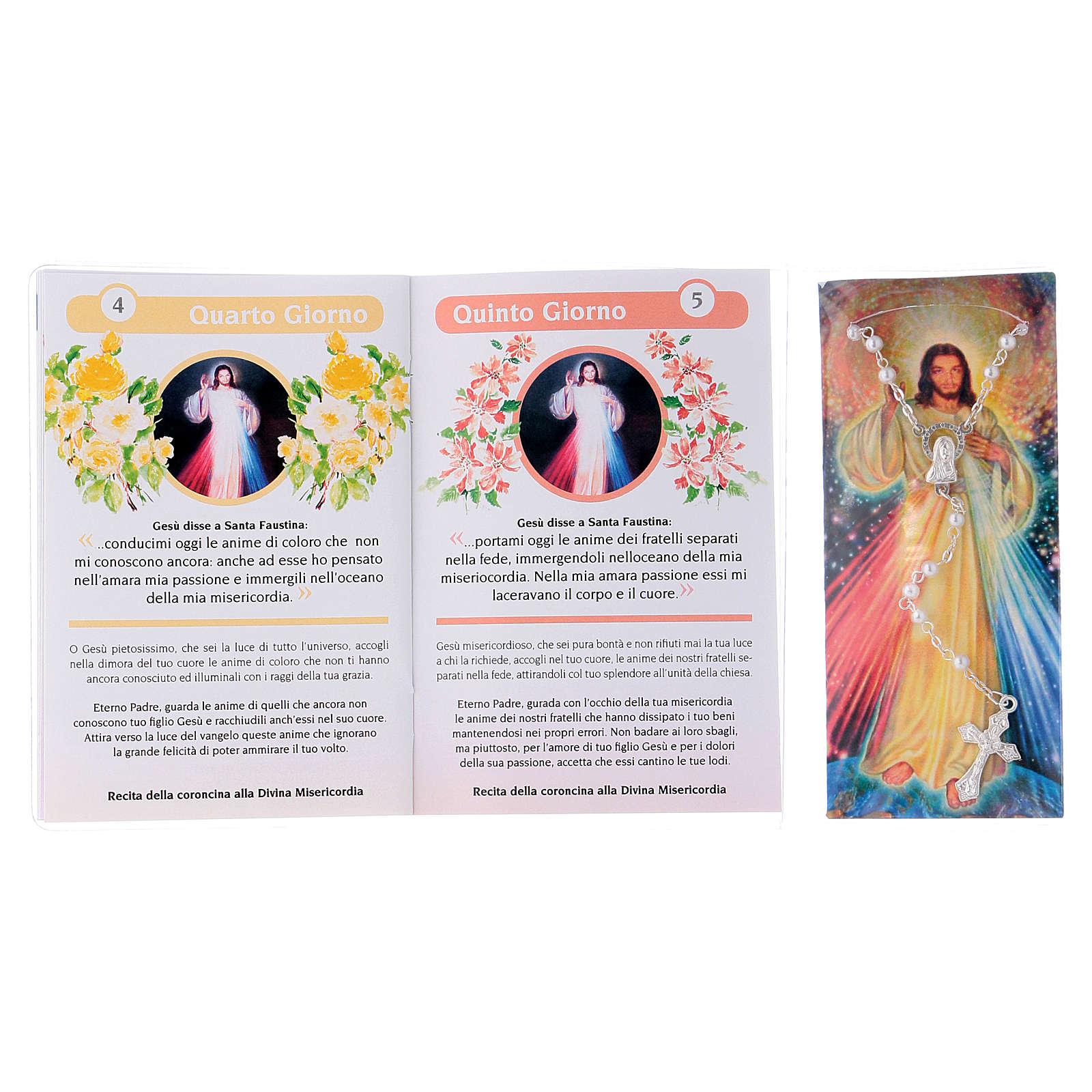 Libretto Novena della Divina Misericordia e rosario ITA 4