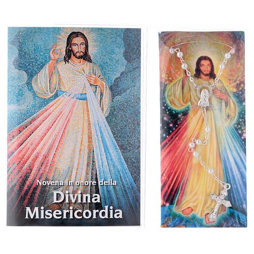 Libretto Novena della Divina Misericordia e rosario ITA 2