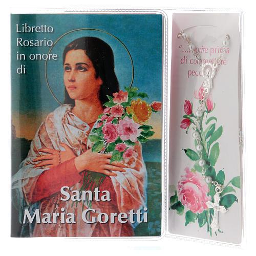 Libretto rosario Santa Maria Goretti e rosario ITA 2