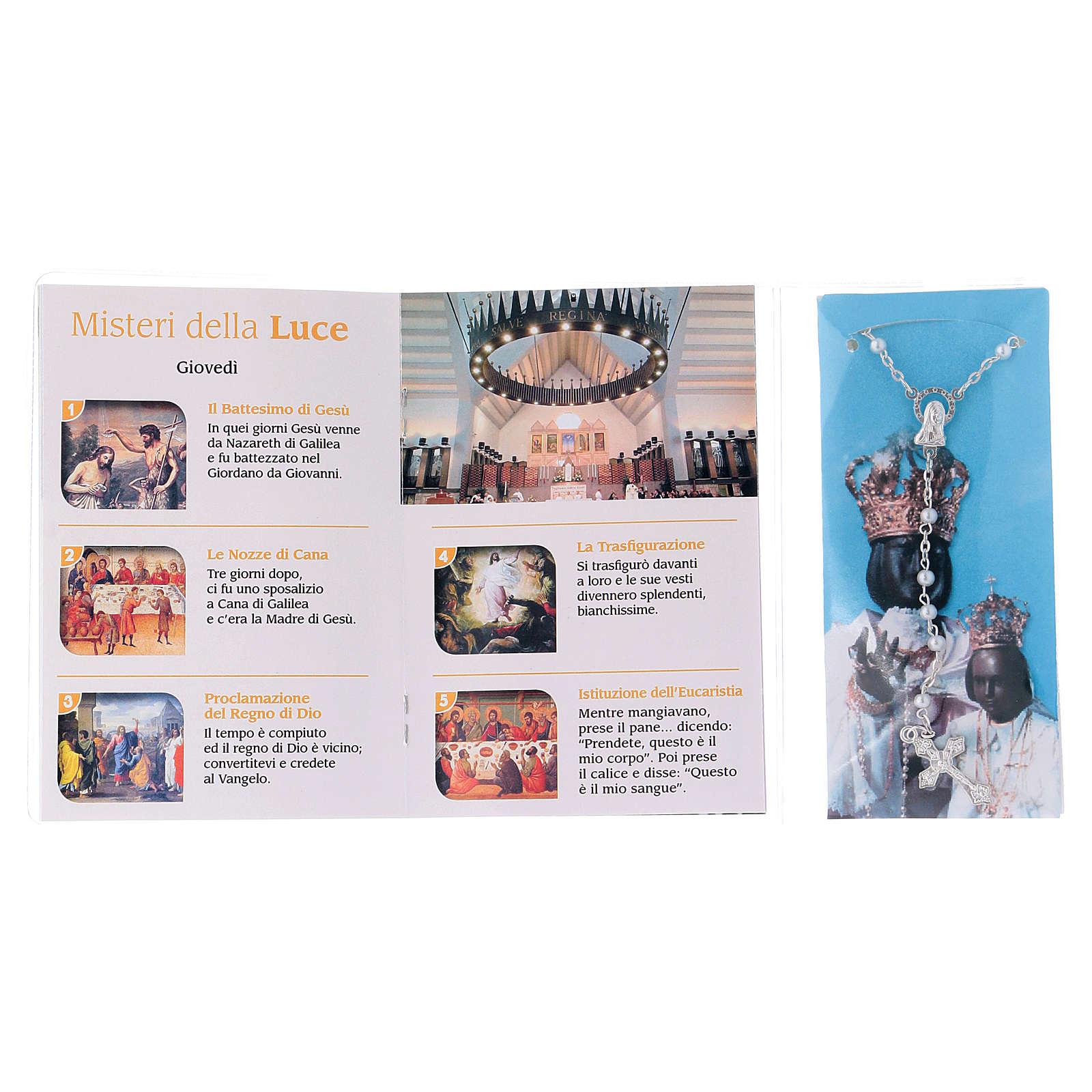 Libretto rosario Madonna Incoronata e rosario ITA 4