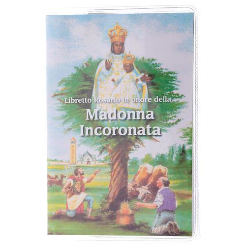 Libretto rosario Madonna Incoronata e rosario ITA 1