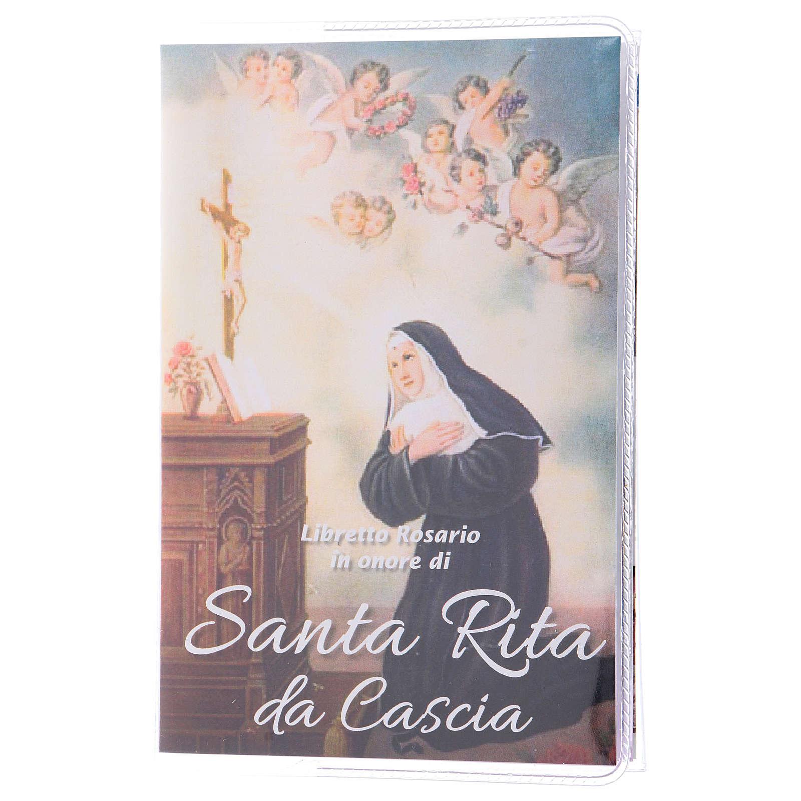 Libretto rosario Santa Rita da Cascia e rosario ITA 4