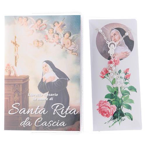 Libretto rosario Santa Rita da Cascia e rosario ITA 2