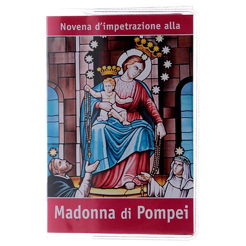 Libretto Novena Madonna di Pompei e rosario ITA 1