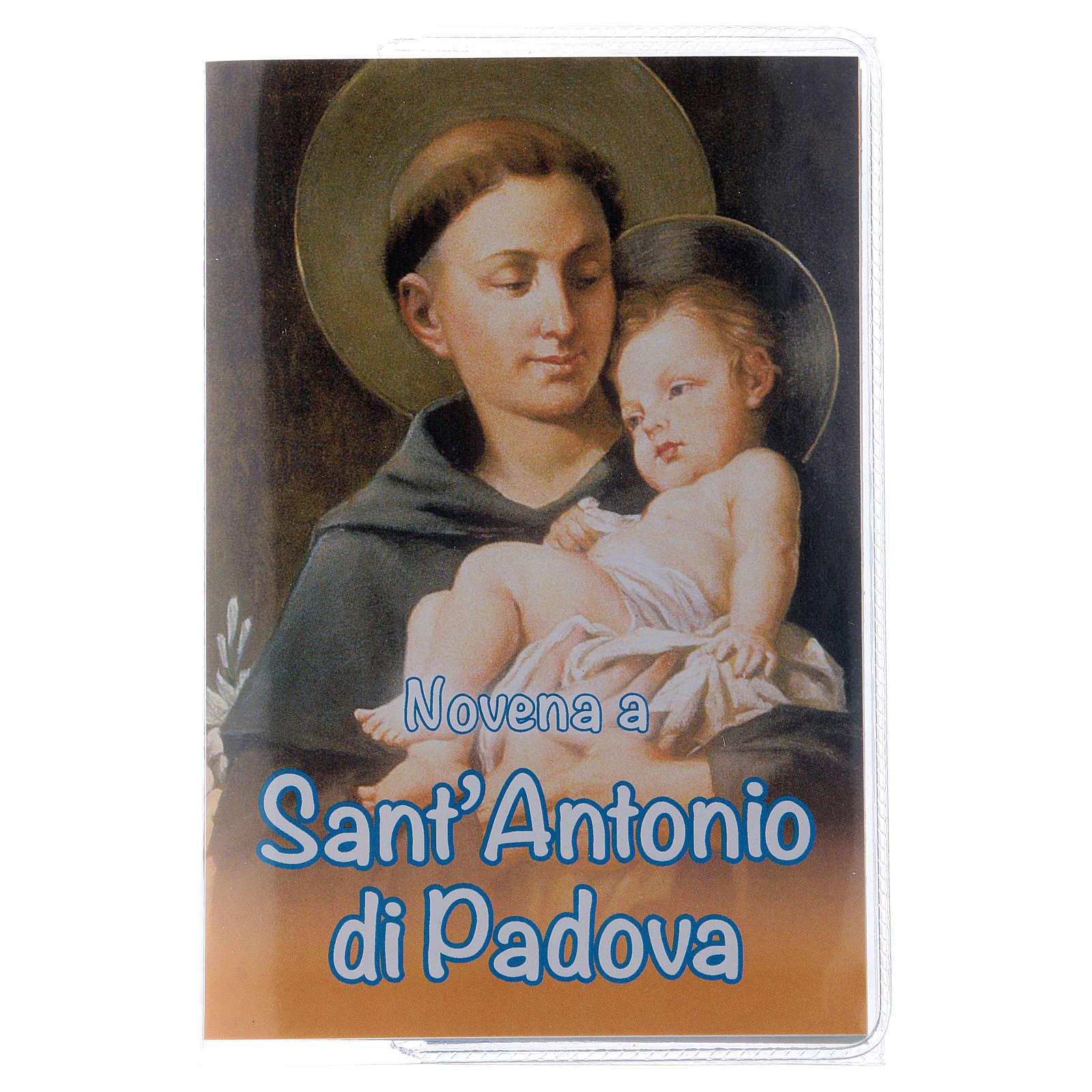 Libretto Novena S. Antonio di Padova e rosario ITA 4