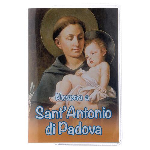 Libretto Novena S. Antonio di Padova e rosario ITA 1