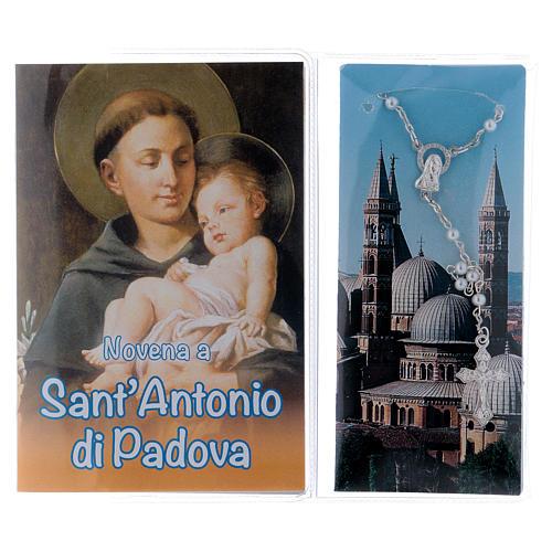 Libretto Novena S. Antonio di Padova e rosario ITA 2