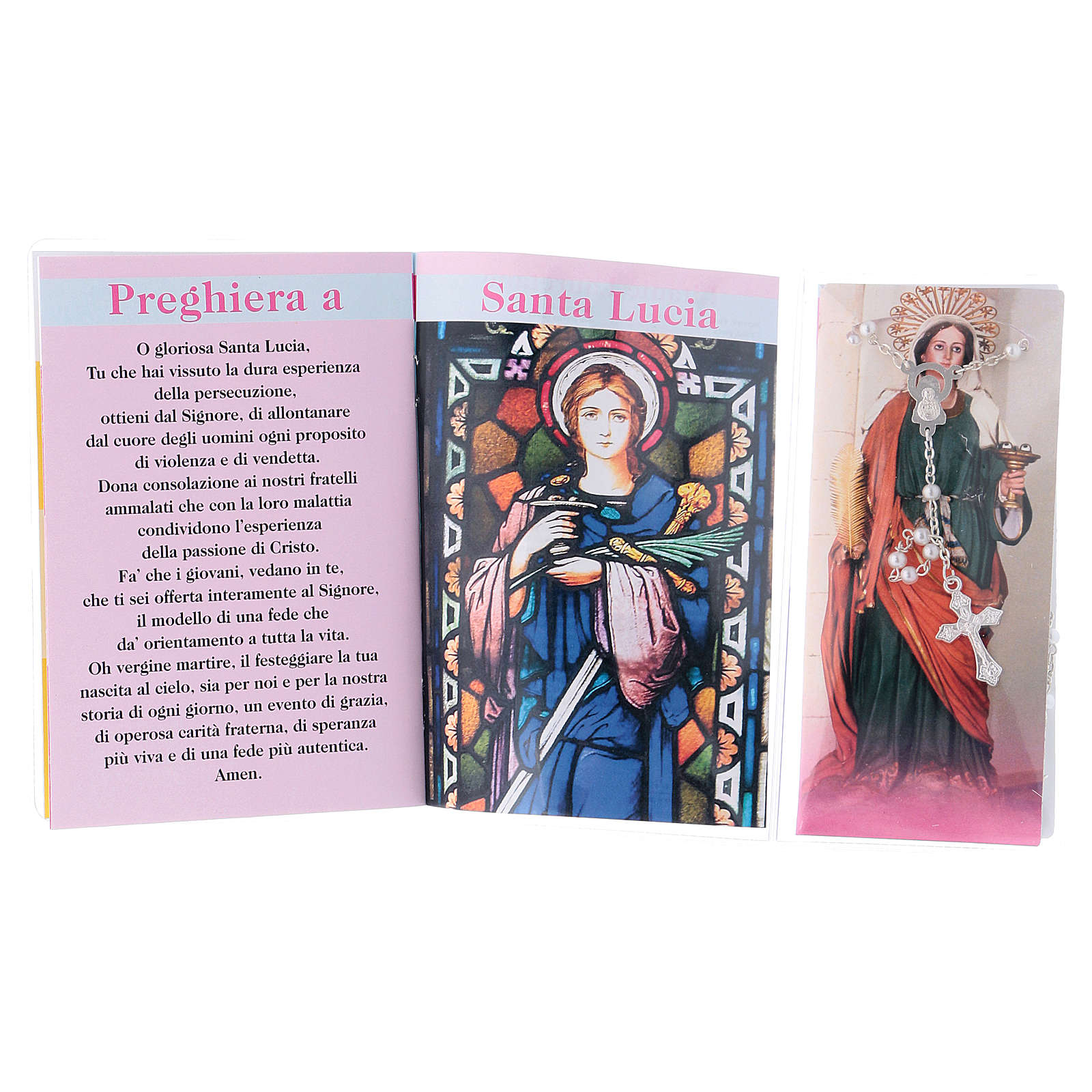 Libretto rosario Santa Lucia e rosario ITA 4